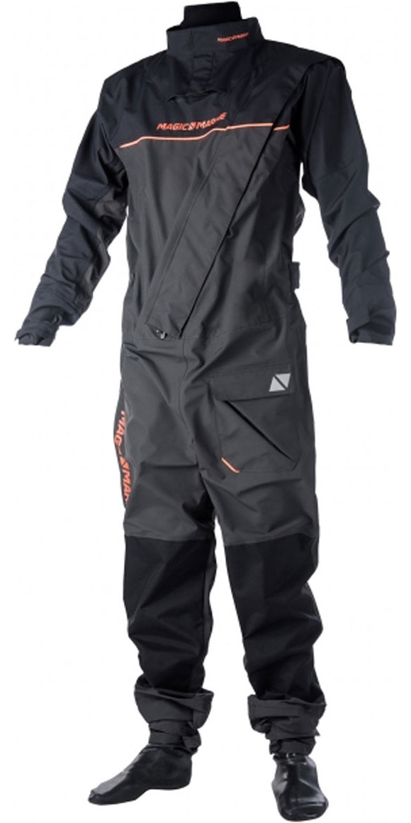 Grey Magic Marine Regatta Front-Zip Drysuit 2017