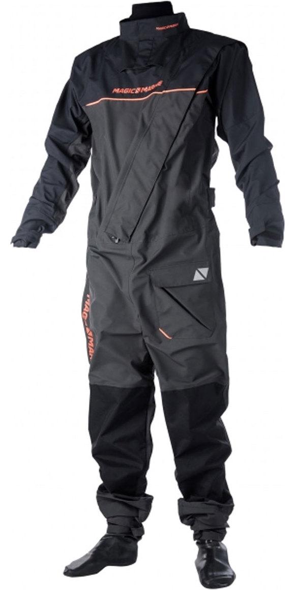 2019 Magic Marine Regatta Front Zip Drysuit Grey 170098