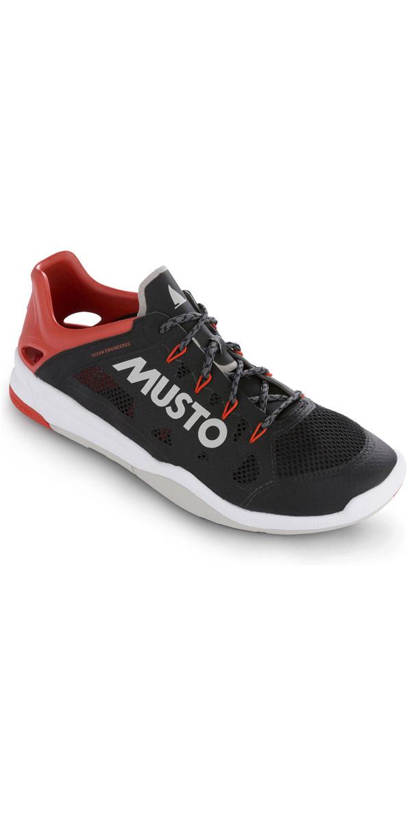 2019 Musto Dynamic Pro II Sailing Shoe Black FUFT006
