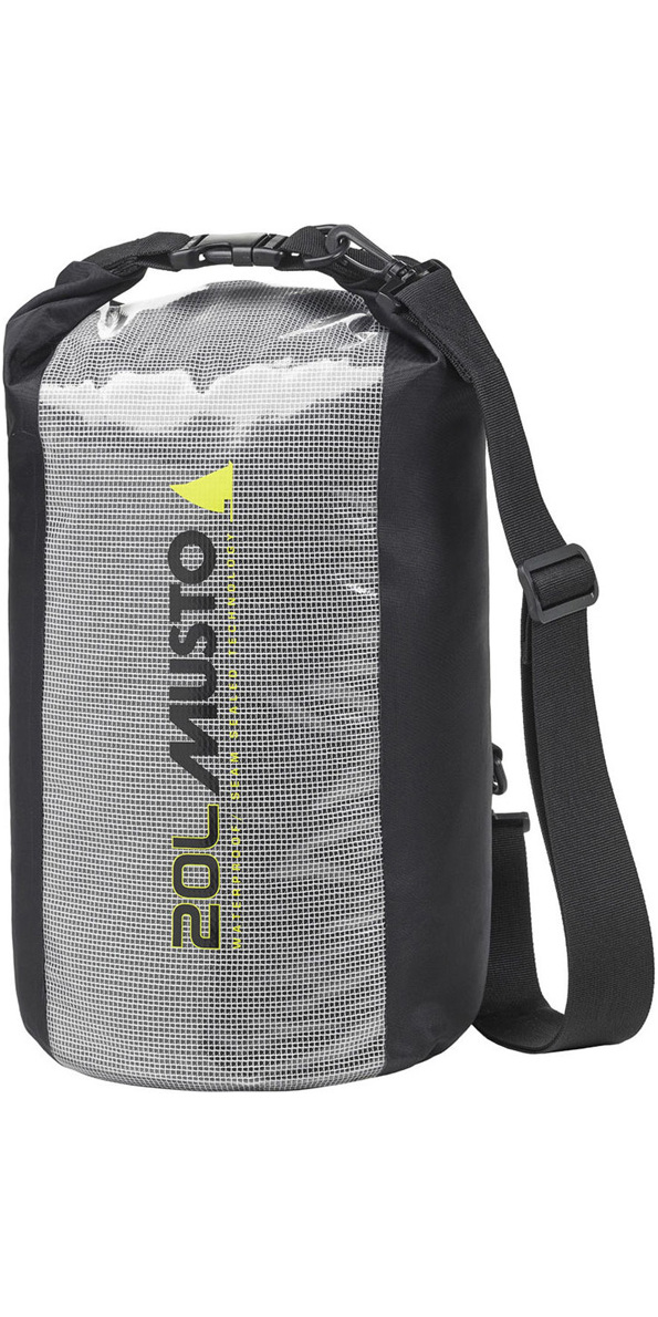 021a0a6f74 2019 Musto Essential 20L Dry Bag Black Aubl004 - Dry Bags - Luggage Dry Bags  - by Musto