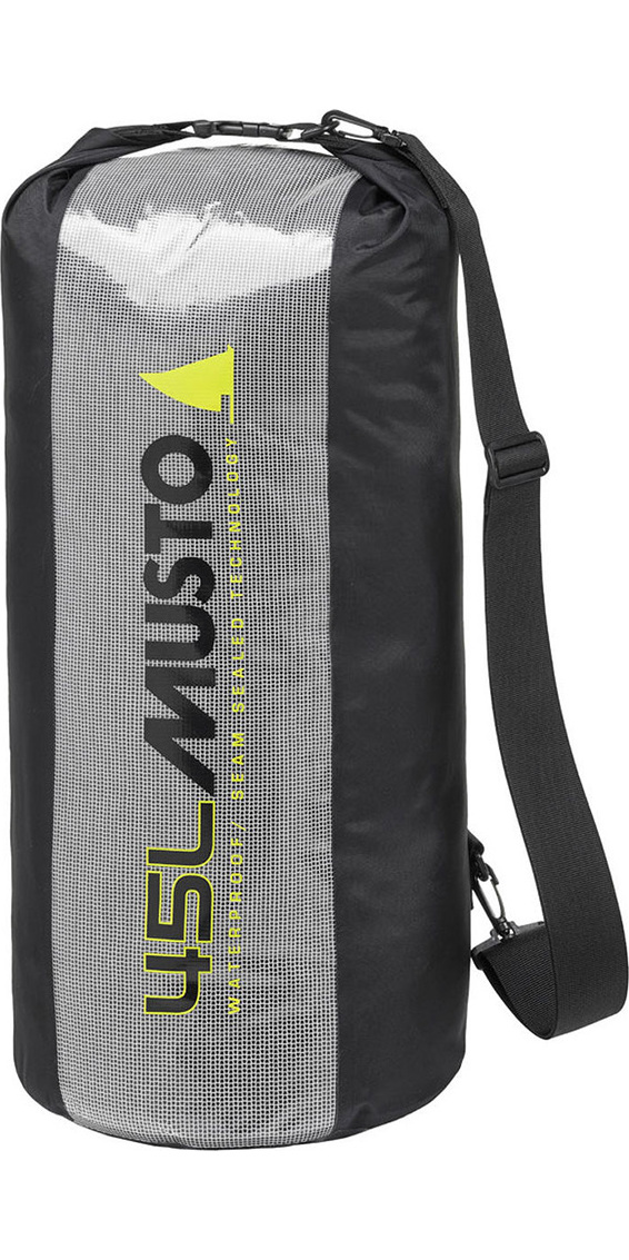 2019 Musto Essential 45L Dry Bag Black AUBL002