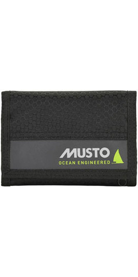 2019 Musto Essential Wallet Black AUBL222