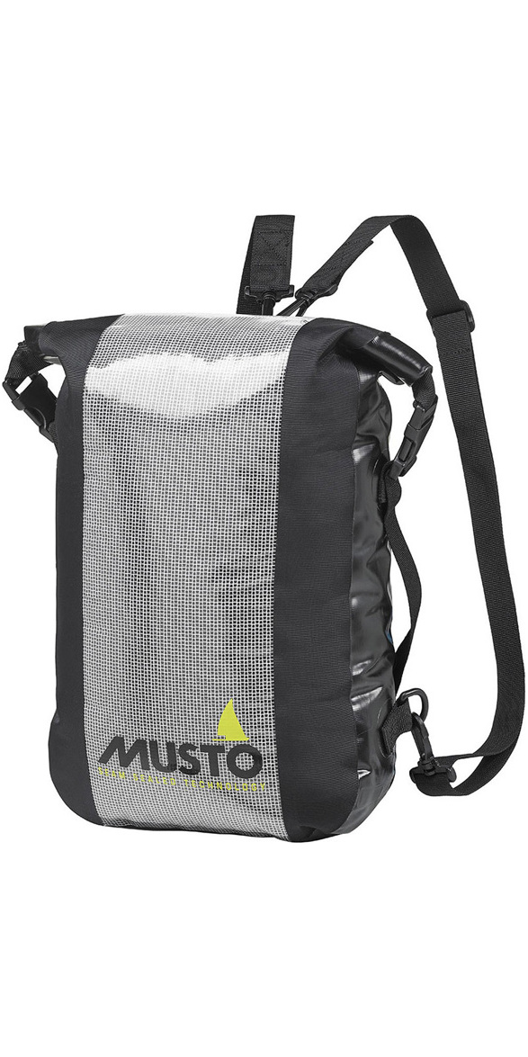 2019 Musto Essential Waterproof Folio Back Pack Black Aubl233 - Dry Bags -  Luggage Dry Bags  a3cb80cc63fb8