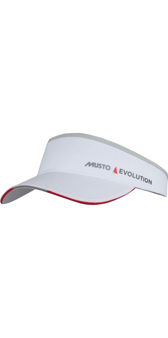 2019 Musto Evolution Race Visor White AS0790