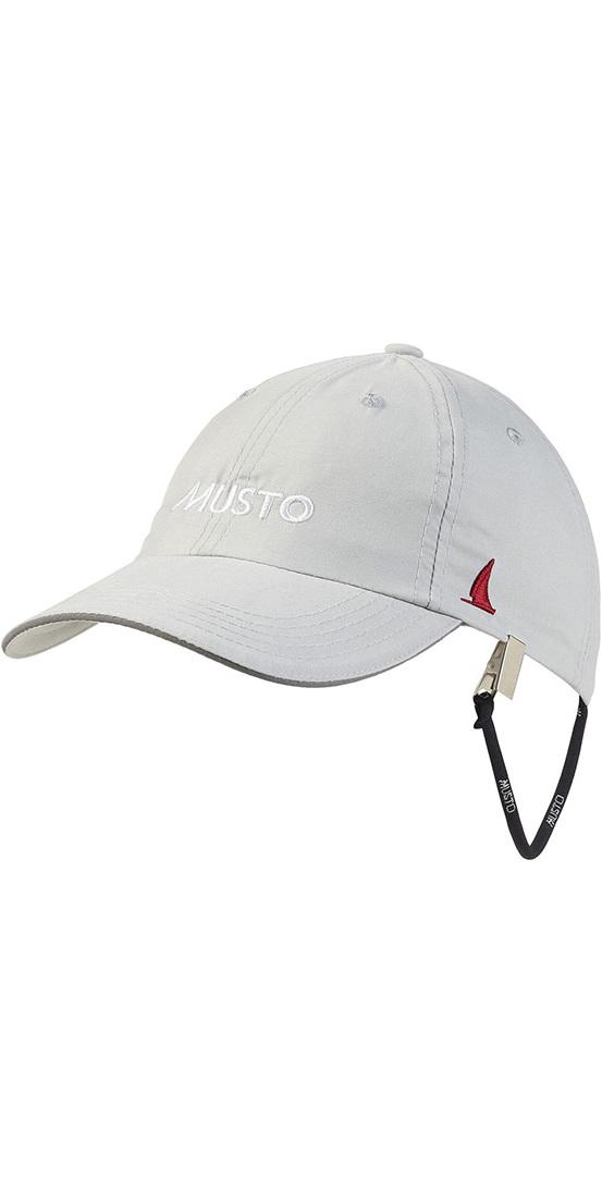 2019 Musto Fast Dry Crew Cap Platinum AL1390
