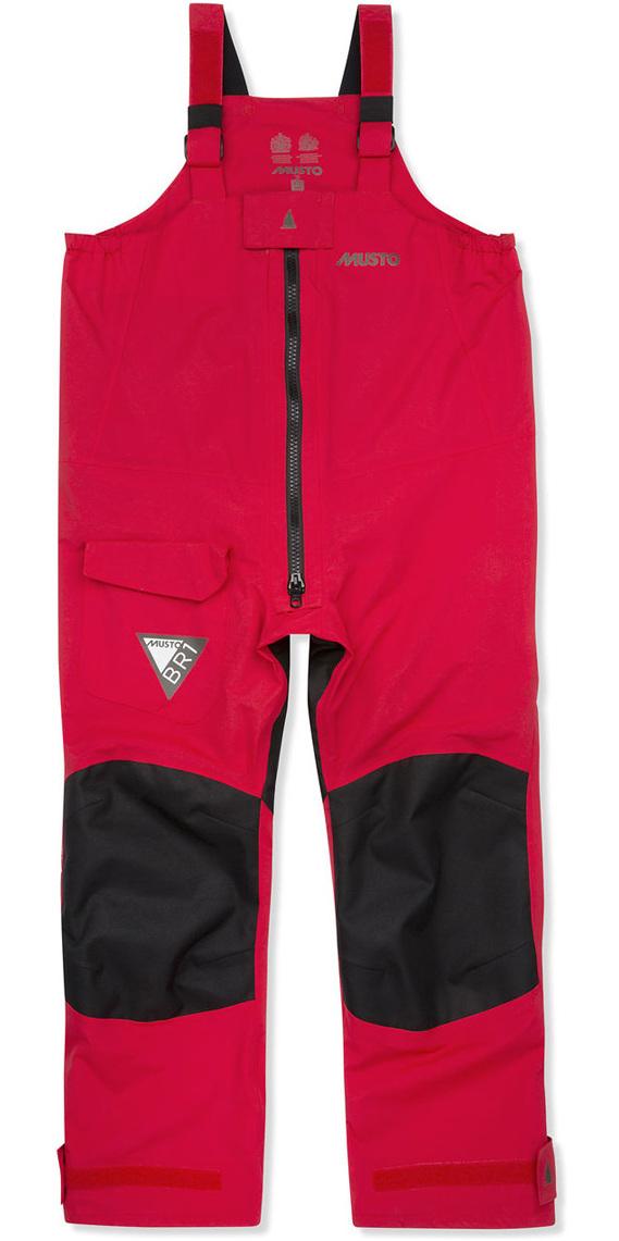 2019 Musto JUNIOR BR1 Trousers True Red / Black KS117J2