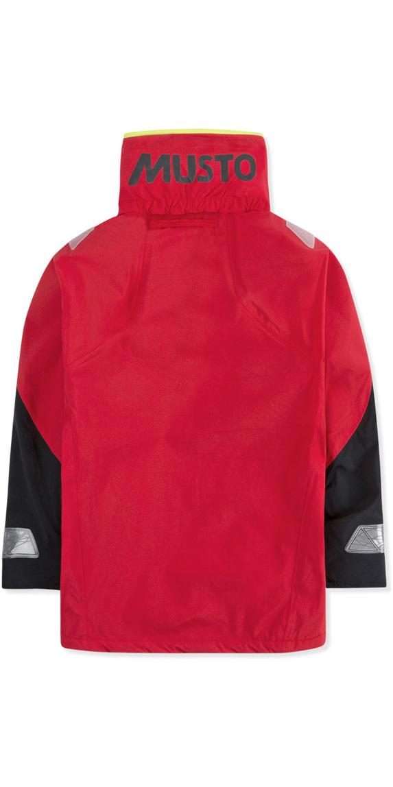 2019 Musto Junior BR1 Coastal Sailing Jacket True Red SKJK004