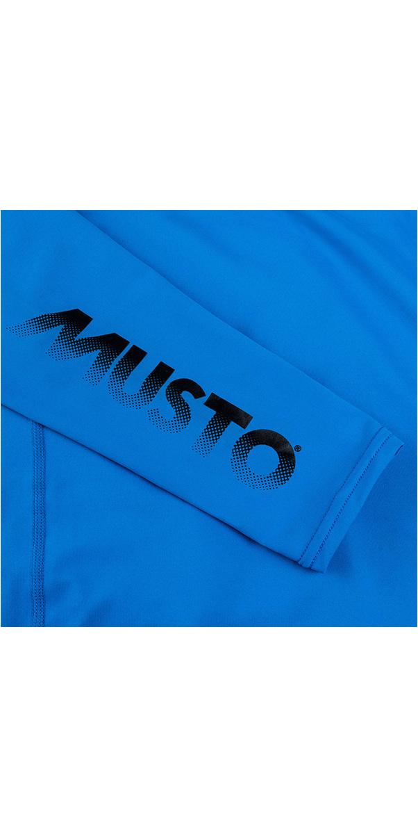 2019 Musto Junior Insignia UV Fast Dry LS T-Shirt Brilliant Blue SKTS012