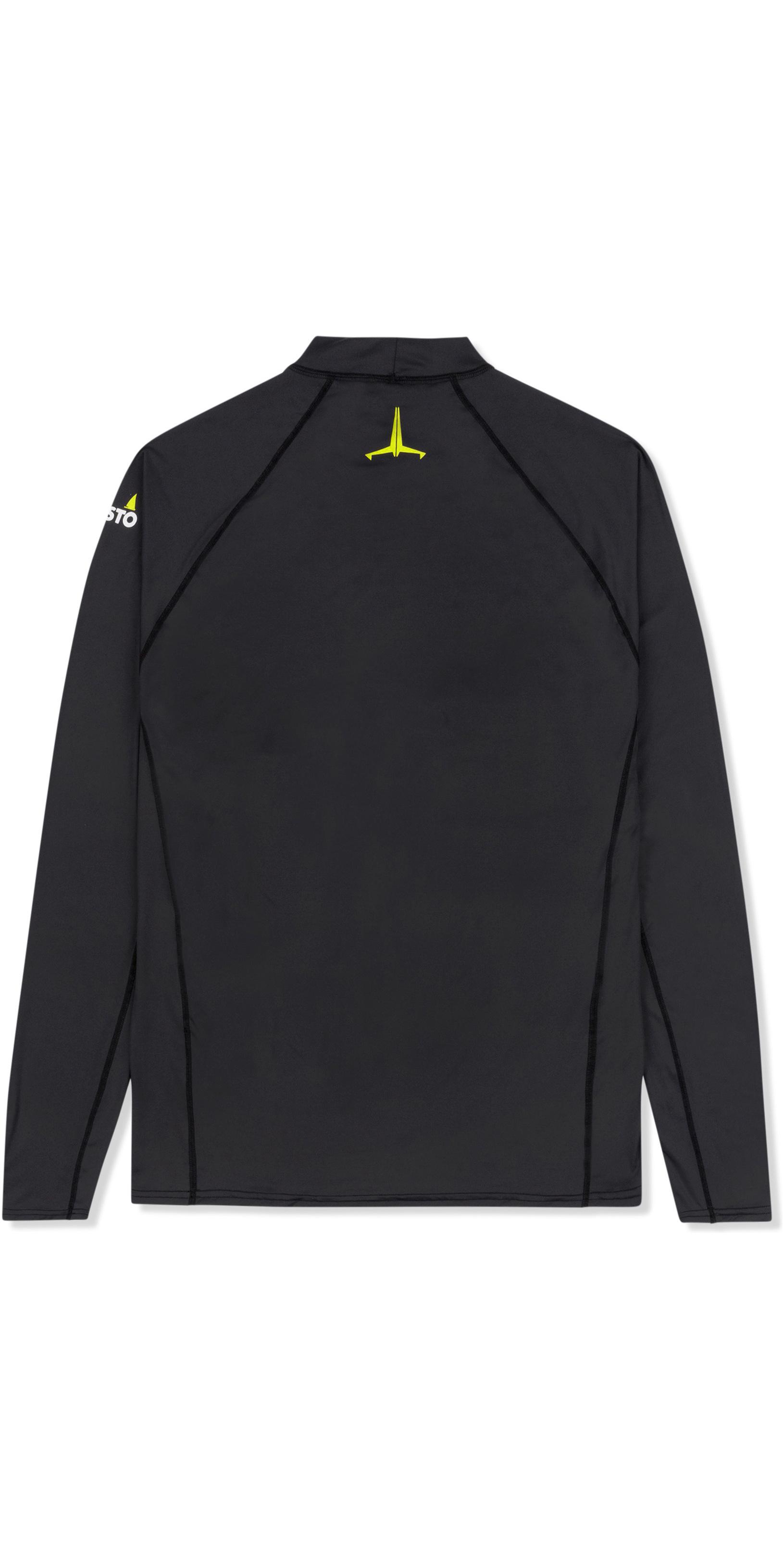 2019 Musto Mens Insignia UV Fast Dry Long Sleeve T-Shirt Black SUTS010