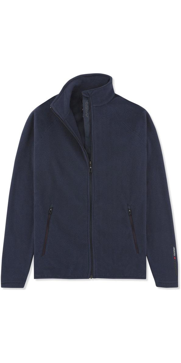 2019 musto womens crew fleece jacket navy ewfl028 ewfl028