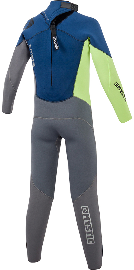 2019 Mystic Junior Star 3/2mm Back Zip Wetsuit Navy 180058