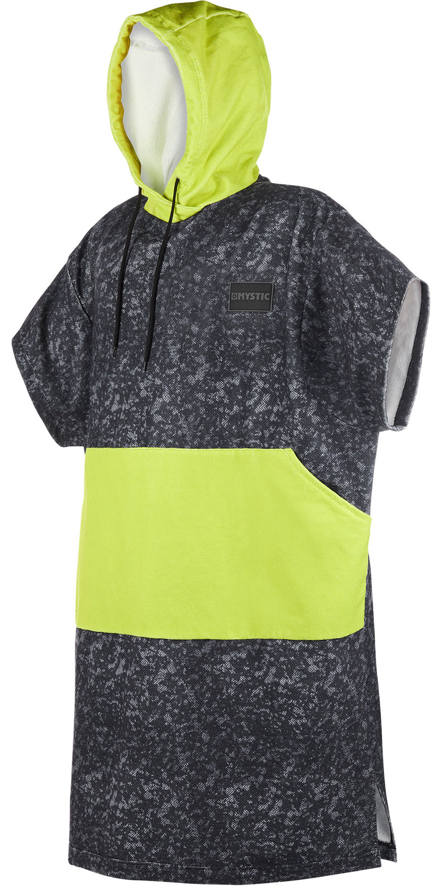 2019 Mystic Allover Poncho / Change Robe Lime 190167