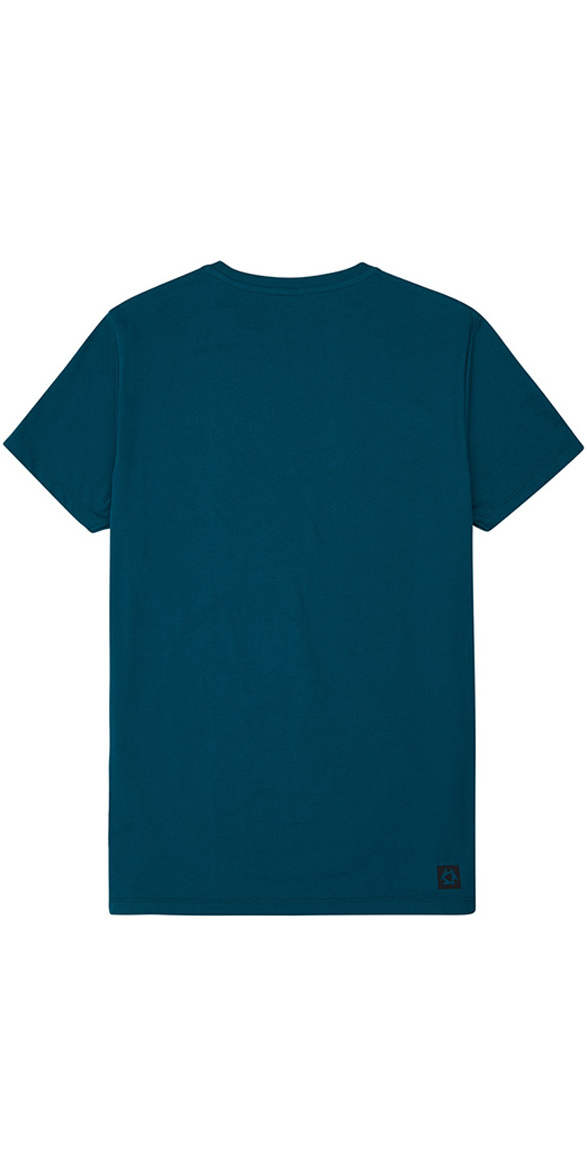 Mystic Brand Tee Legion Blue 190015