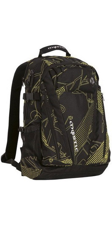 557abd8eb459 Mystic Decent Backpack Yellow / Black