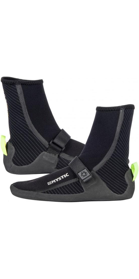 Mystic Gust 3mm Split Toe Boots BLACK 180039