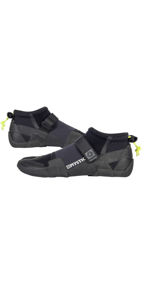 2018 Mystic Lightning 3mm Split Toe Shoe BLACK 180041