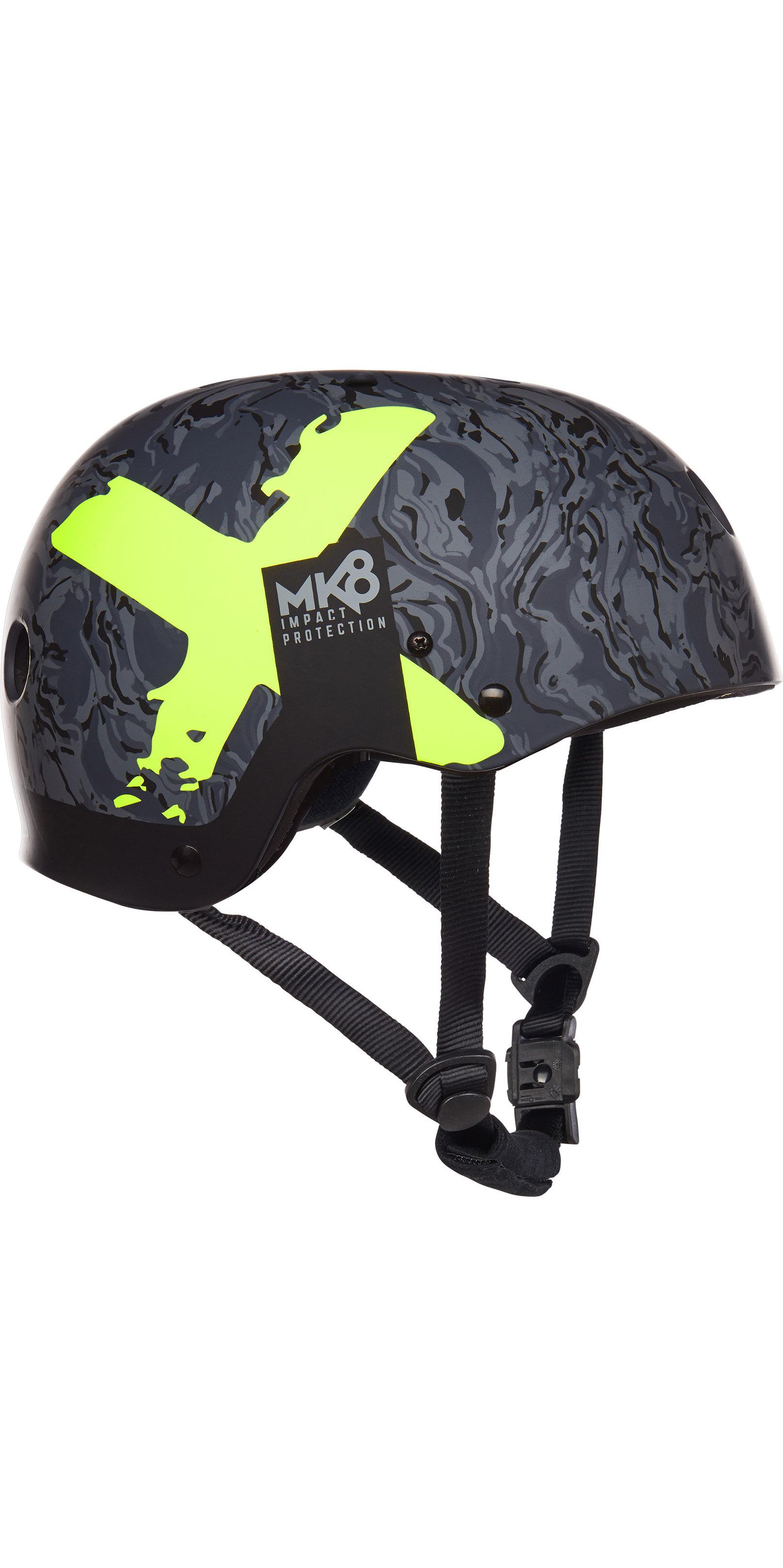 2019 Mystic MK8 X Helmet Navy / Lime 180160