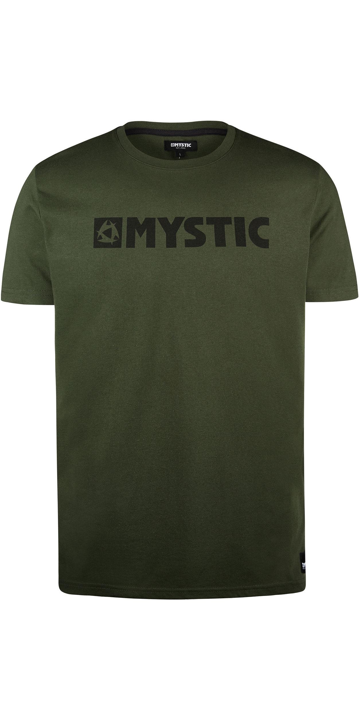 2019 Mystic Mens Brand Tee 190015 - Moss
