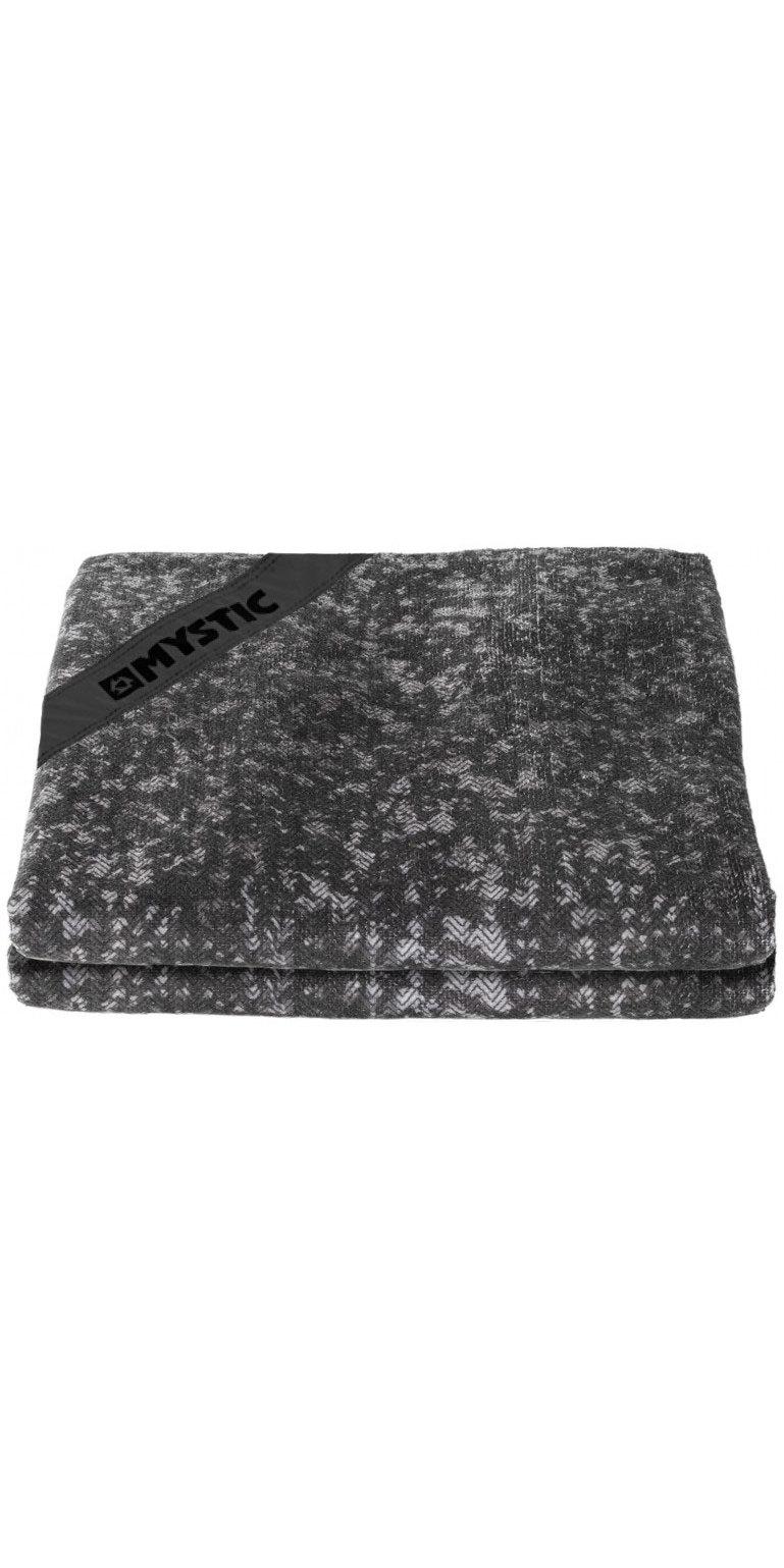 2019 Mystic Quick Dry Towel Black 180044