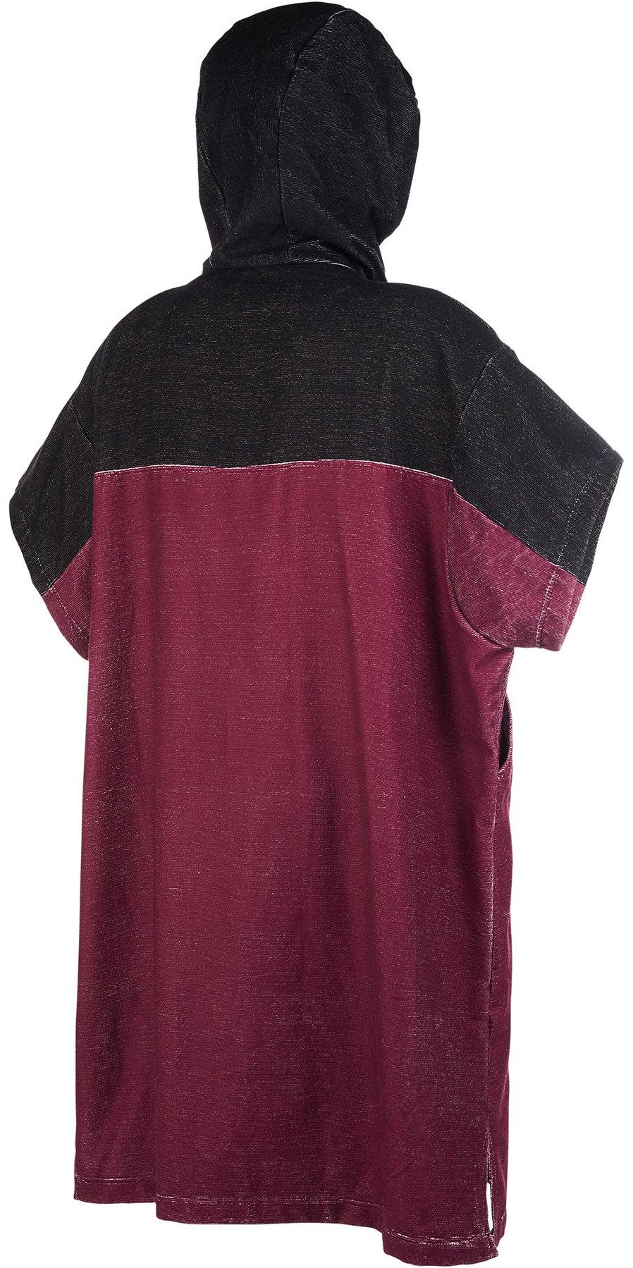 2019 Mystic Regular Poncho / Change Robe Dark Red 190169