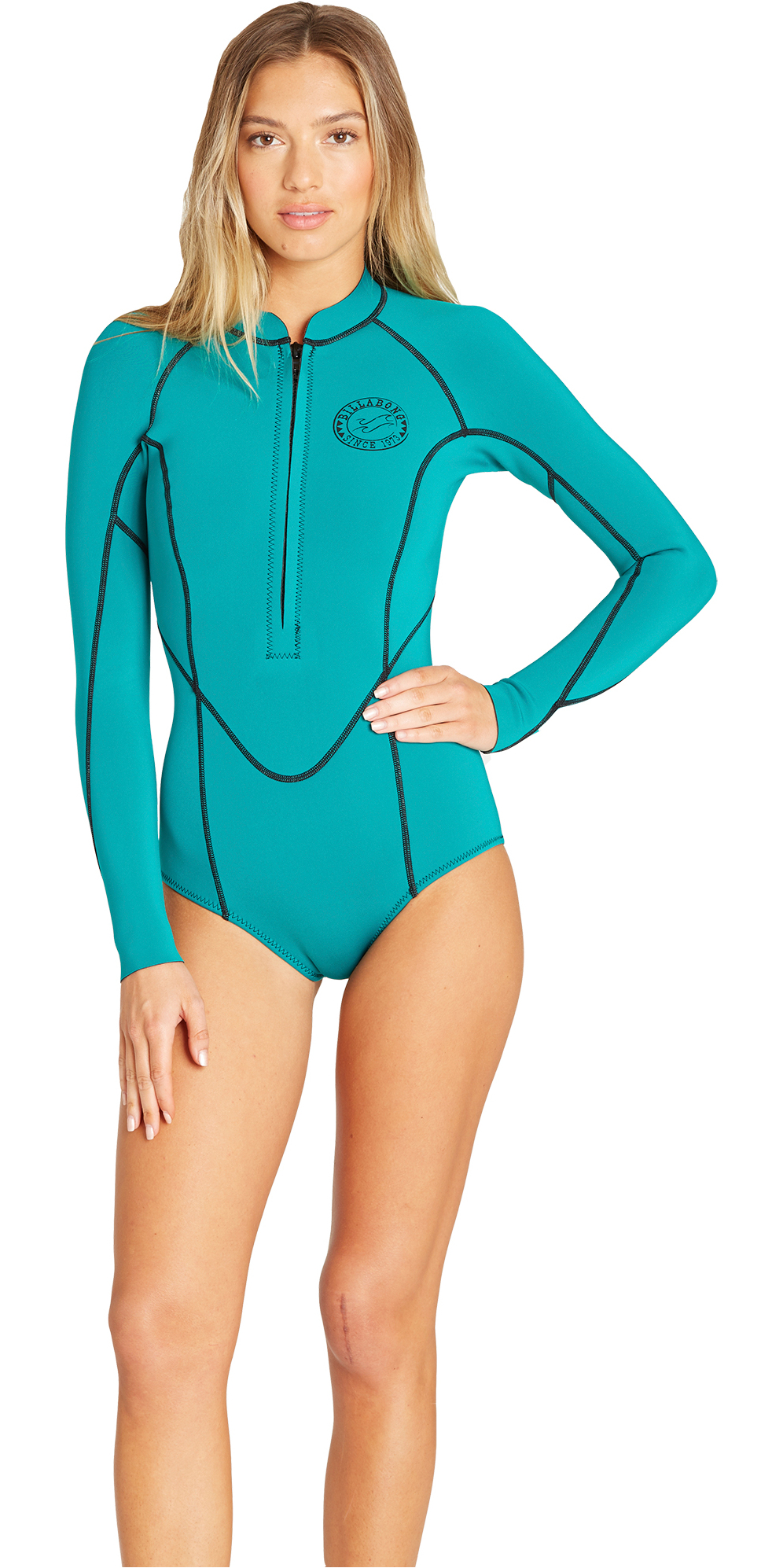 a7a923075ea 2019 Billabong Womens Salty Dayz 2mm Ls Spring Wetsuit Palm Green N42g03 -  Womens - Shorty | Wetsuit Outlet