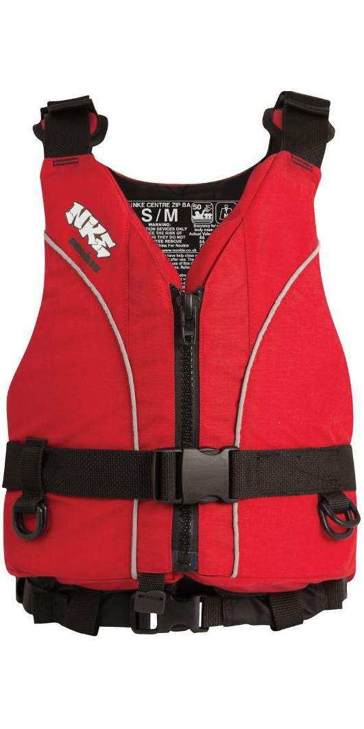 2019 NKE Centre Zip Buoyancy Aid BA03 - Colour coded by size