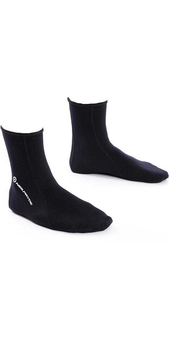 2018 Neil Pryde 1mm Toastie Neoprene Socks Black 630202