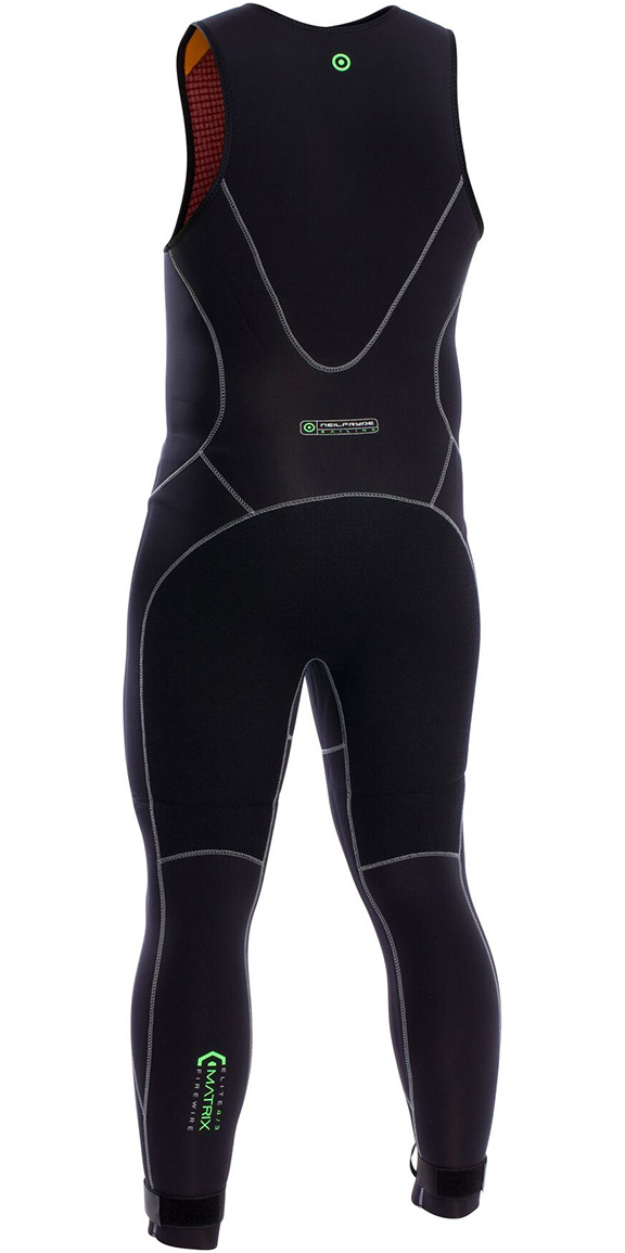 2019 Neil Pryde Elite Firewire 3mm Long John Wetsuit Black SAB600