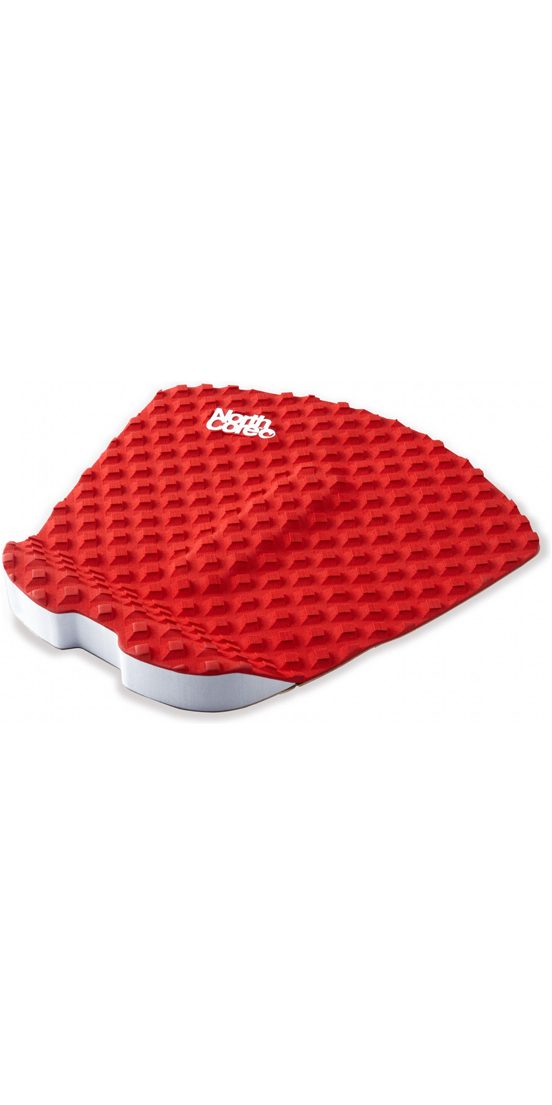2019 Northcore Ultimate Grip Deck Pad Red NOCO63C