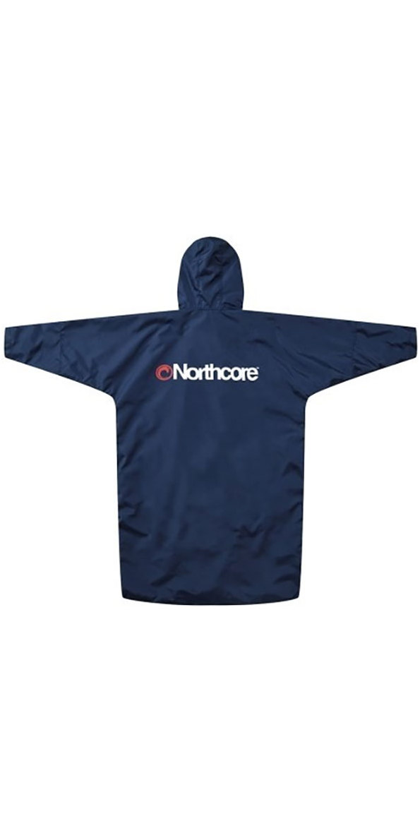 2019 Northcore Beach Basha Pro 4 Season Changing Robe Blue NOCO24J