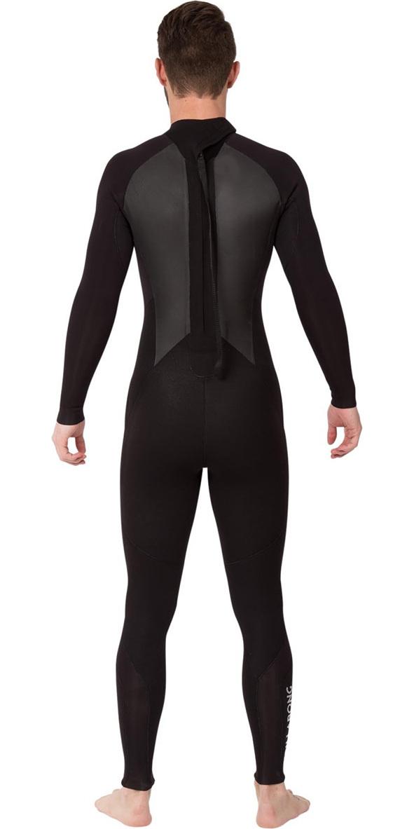 2019 Billabong Intruder 3/2mm GBS Back Zip Wetsuit BLACK 043M15