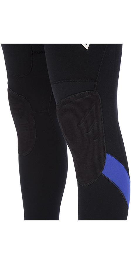 Billabong Intruder 3/2mm GBS Back Zip Wetsuit BLACK / Blue 043M15