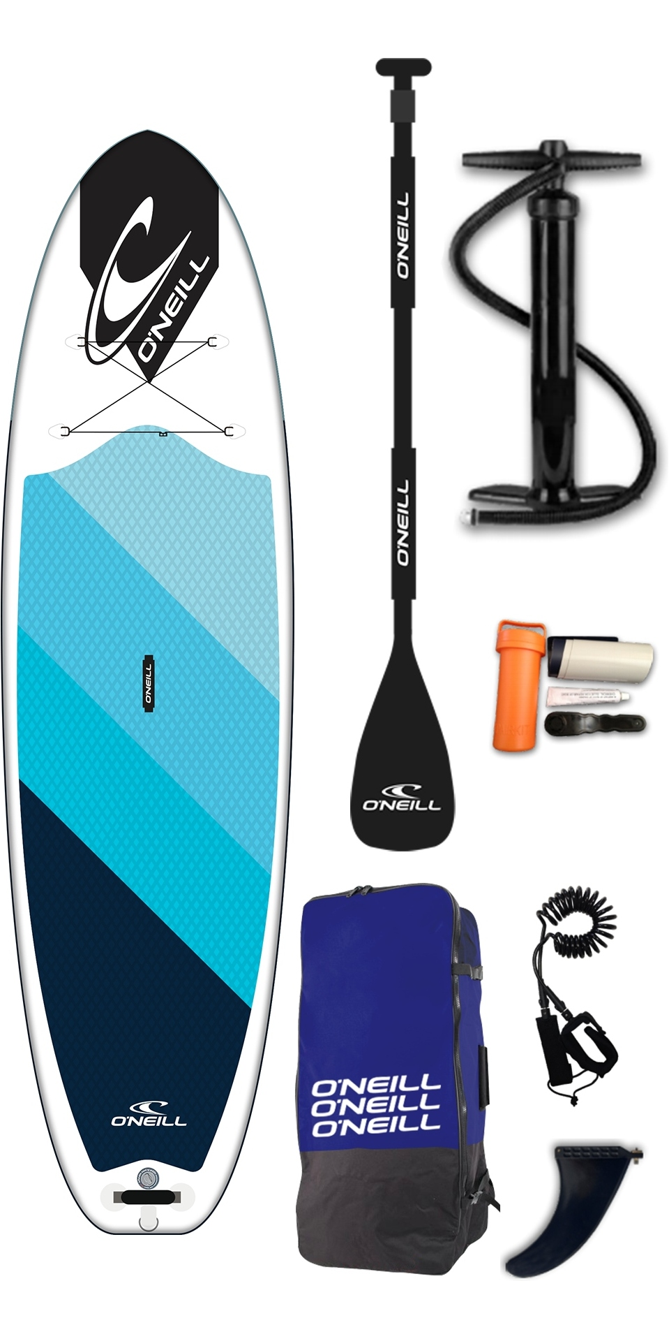 9c2f709fb2fa 2019 O'Neil I-SUP Santa Fade 10'2 Full Pack Board, Paddle & Leash | SUP |  Wetsuitoutlet | Wetsuit Outlet