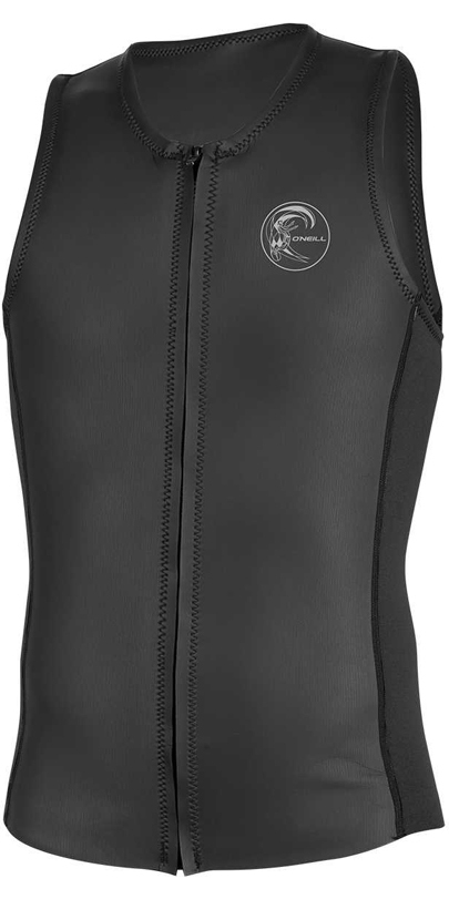 2019 O'Neill O'riginal 2mm Front Zip Neoprene Vest BLACK 5079