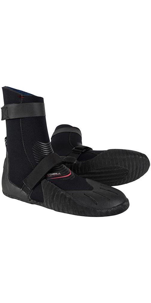 2019 O'Neill Heat 3mm Round Toe Boot Black 4788
