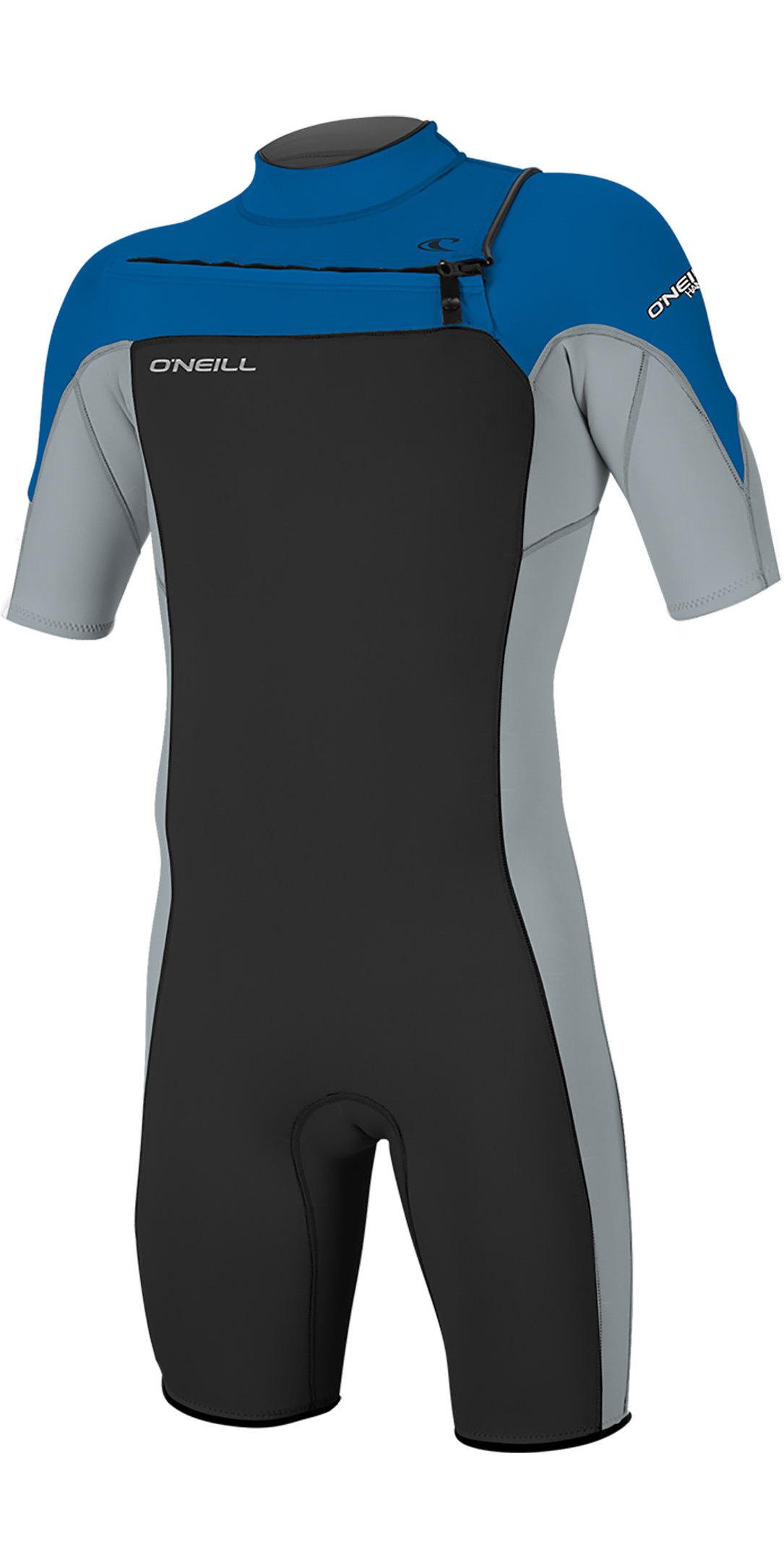Billabong Mens Intruder BZ Spring Short Sleeve Wet Suit