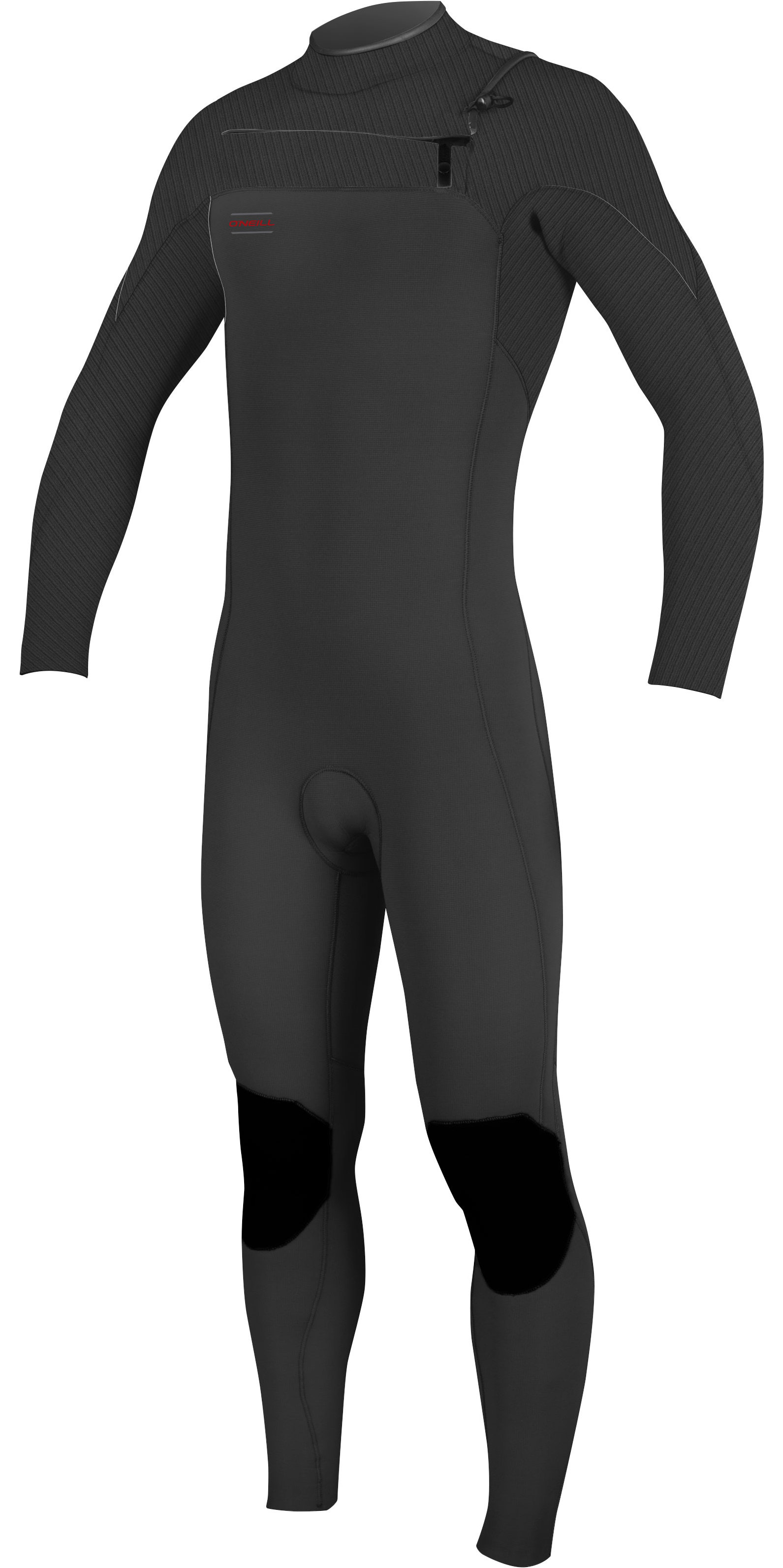 2019 O'Neill Mens Hyperfreak 4/3mm Chest Zip GBS Wetsuit Graphite 5001