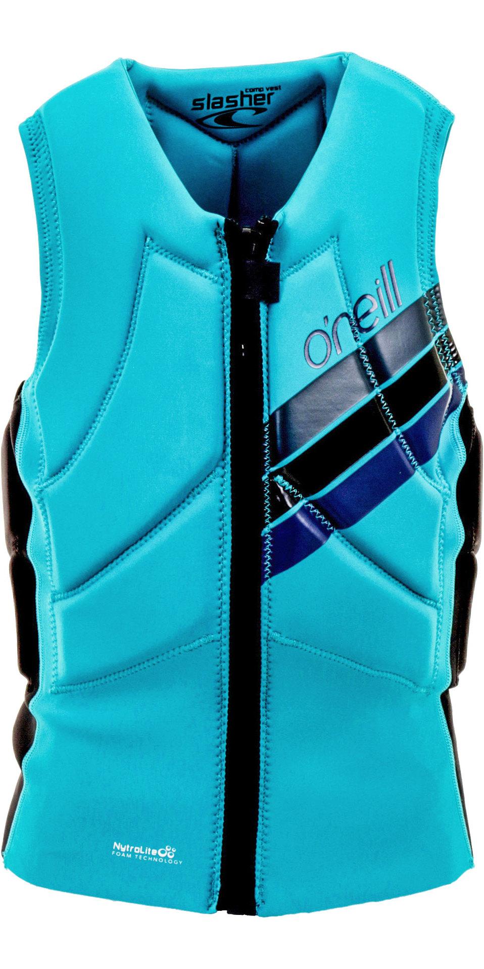 O'Neill Womens Slasher Comp Impact Vest Breeze 4938EU
