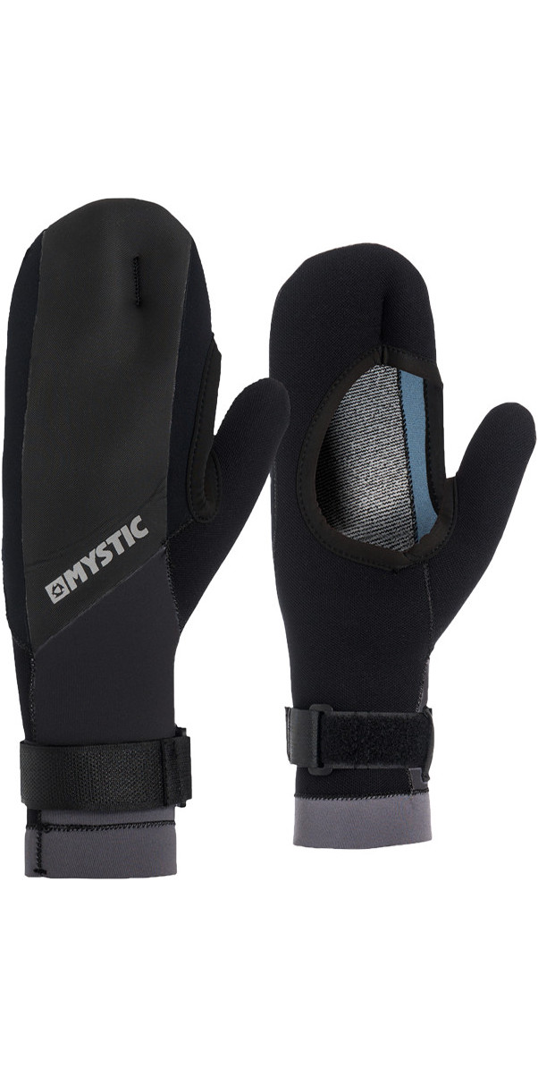 2019 Mystic 1.5mm Open Palm Mitten Black 170175