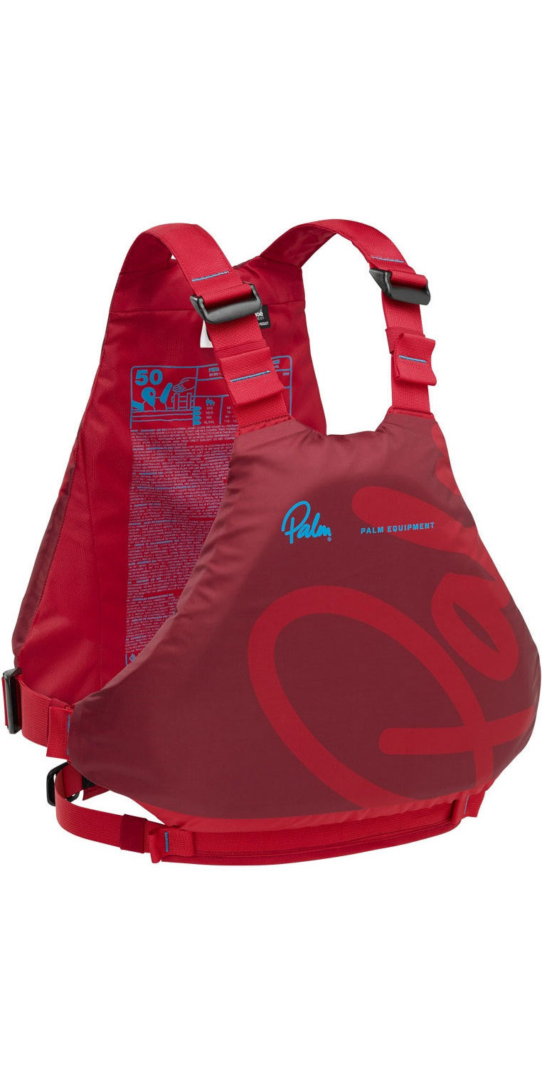 2019 Palm Ace 60N Buoyancy Aid Chilli Flame 12392