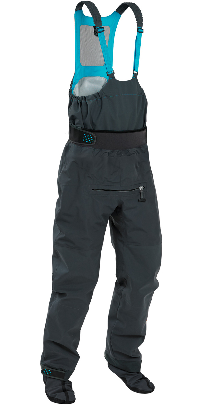 2019 Palm Atom Dry Bib Relief Zip and Dry Socks in Jet Grey 11725