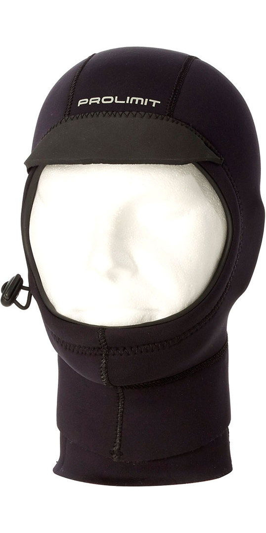 2018 Prolimit Neoprene Mesh Hood Black 10120
