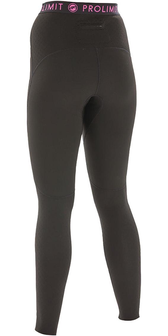 2020 Prolimit Womens 2mm Airmax Neoprene SUP Trousers Black / Pink 84730