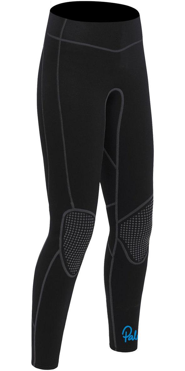 2020 Palm Quantum Womens 3mm Flatlock Wetsuit Trousers Black 12239