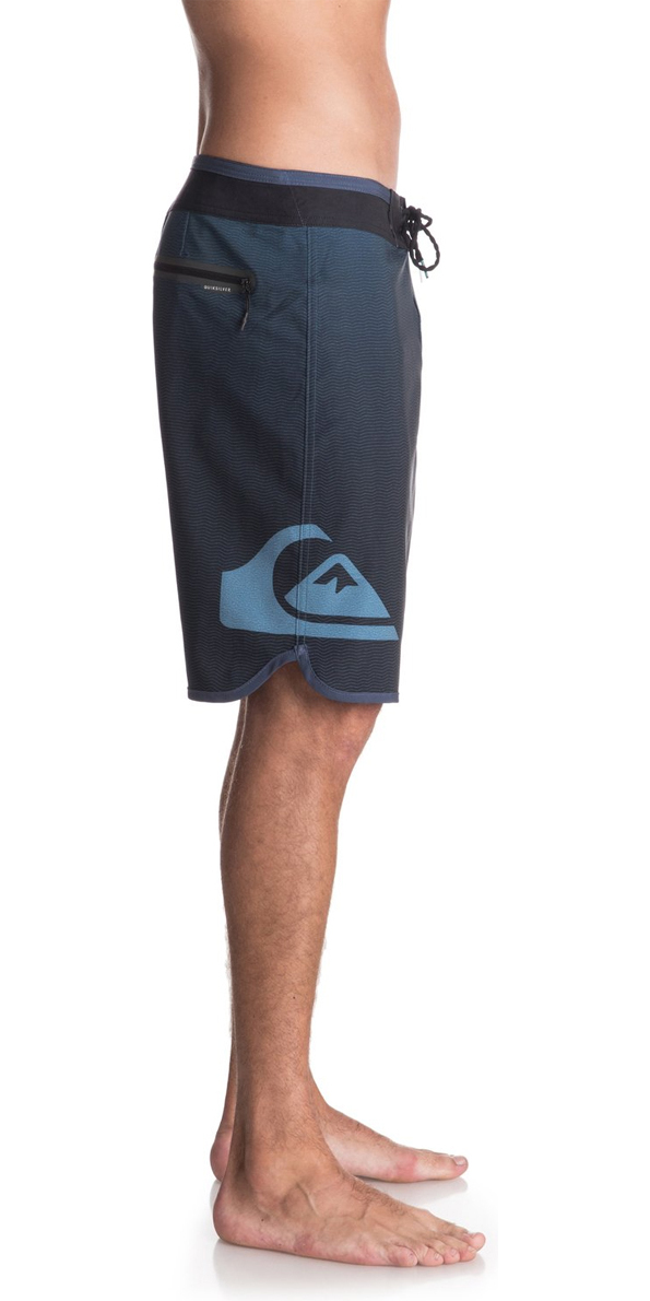"""2018 Quiksilver Highline New Wave 20"""" Board Shorts Blue Night EQYBS03861"""