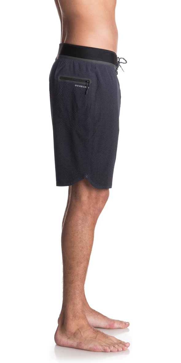 """2018 Quiksilver Highline New Wave Pro 19"""" Board Shorts Blue Night EQYBS04"""