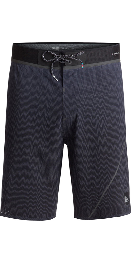 "2018 Quiksilver Highline New Wave Pro 19"" Board Shorts Blue Night EQYBS04"