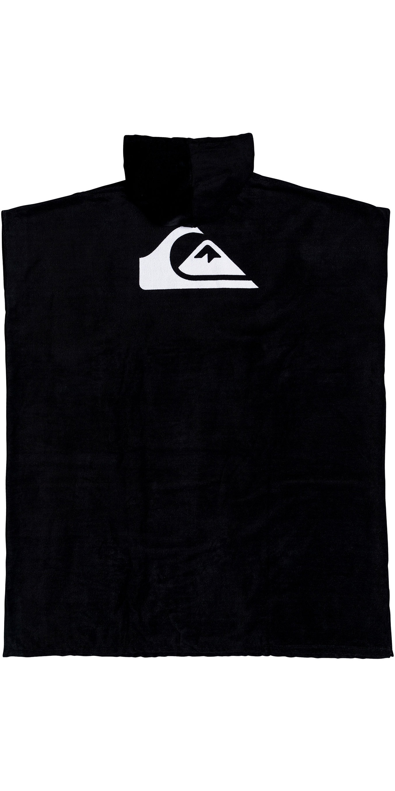 2019 Quiksilver Hooded Towel Poncho Black EQYAA03842