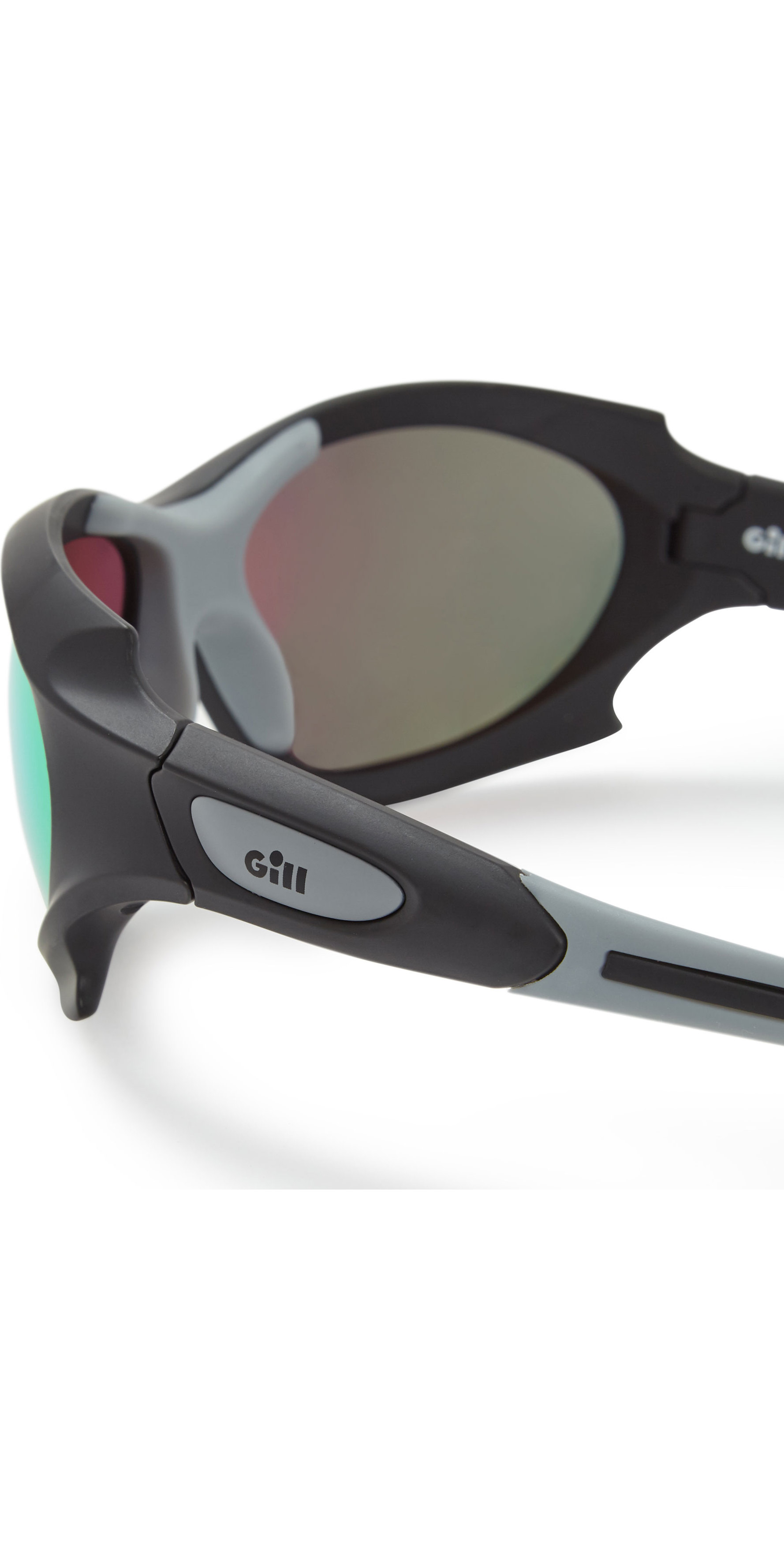 2019 Gill Race Ocean Sunglasses Black / Orange RS27