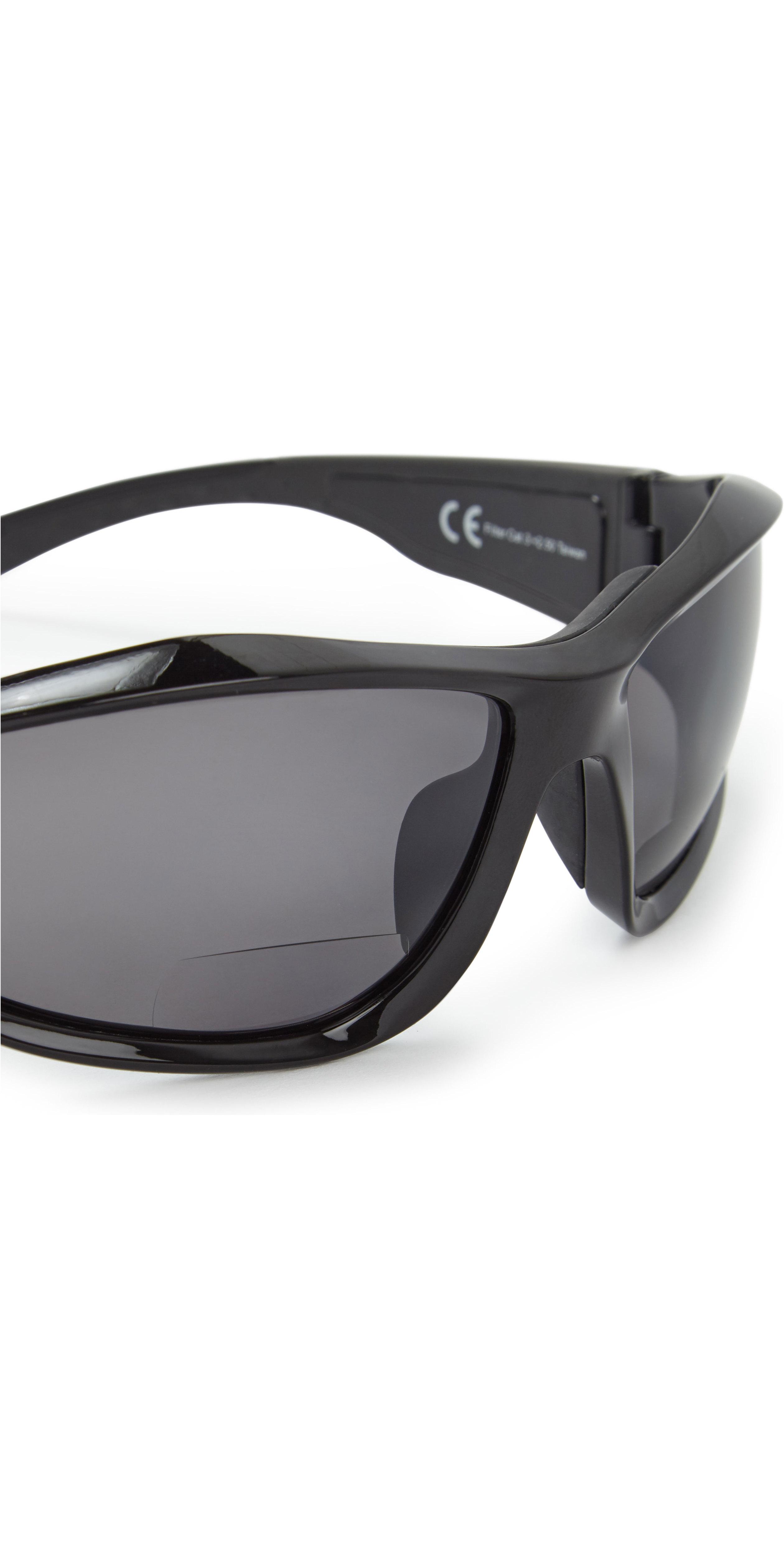 2019 Gill Race Vision Bi-focal Sunglasses Black / Smoke RS28